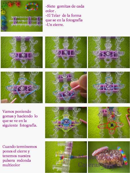 Manualidades para niños Pulseras  de Gomitas