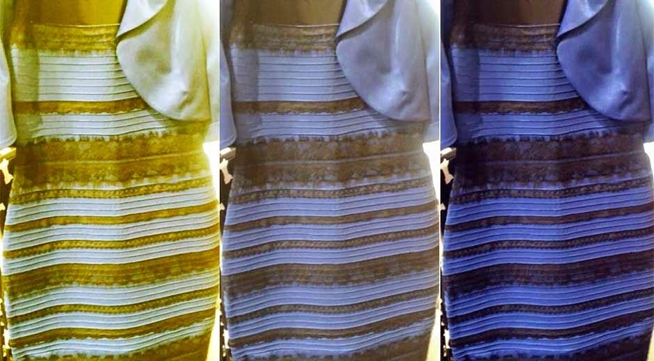 Vestido blanco con dorado o azul con negro