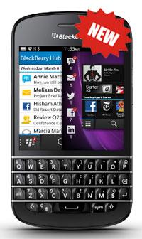 BlackBerry Q10 Kisaran Harga Ponsel BlackBerry Baru / Bekas (Update September 2013)