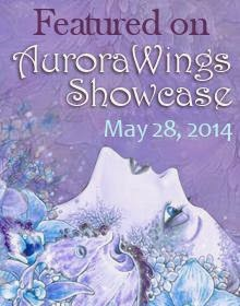 I was Spotlighted on Aurora Wings with my Lily Card