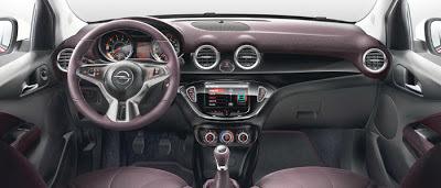Opel adam la interior