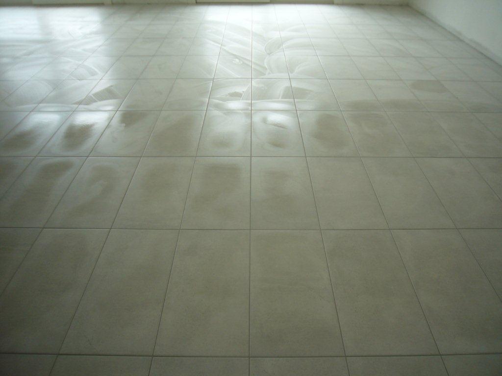 Pavimento su piano terra open space gabbatore mattia - Posa piastrelle in diagonale ...
