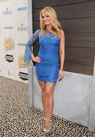 Courtney Hansen at Guys Choice Awards 2013 red carpet