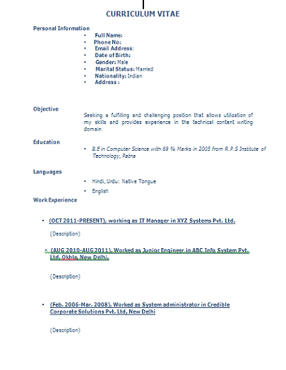 Telecom Field Engineer Cover Letter