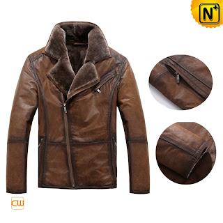 Vintage Shearling Jacket au