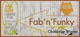 2 x Fab 'n' Funky Winner