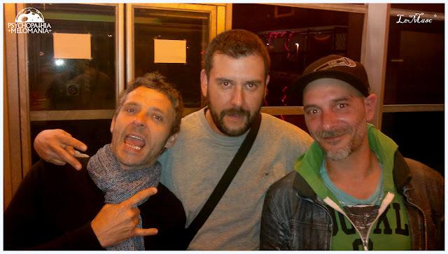 LeMasc avec Seb et Diidoo des Seven Hate @L'Empreinte, Savigny-Le-Temple 16/05/2015