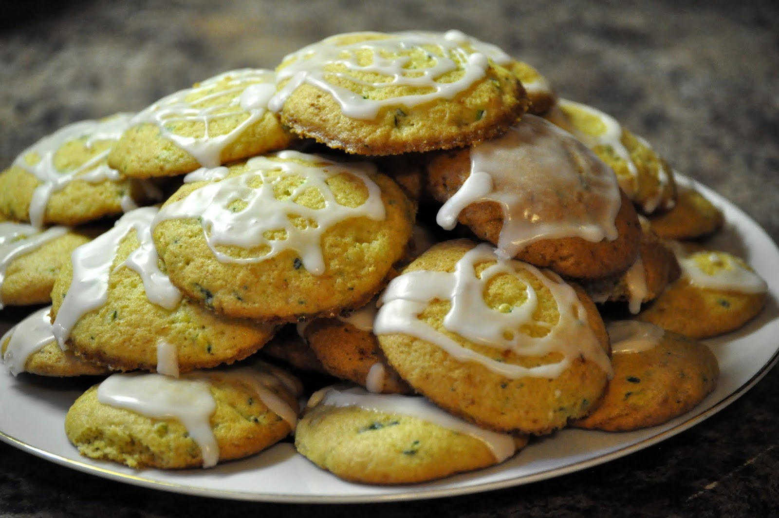 ... Farm CSA: Recipe Of The Week: Zucchini Cookies With Lemon Glaze