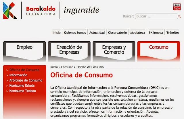Barakaldo digital la oficina del consumidor registra un for Oficina del consumidor durango