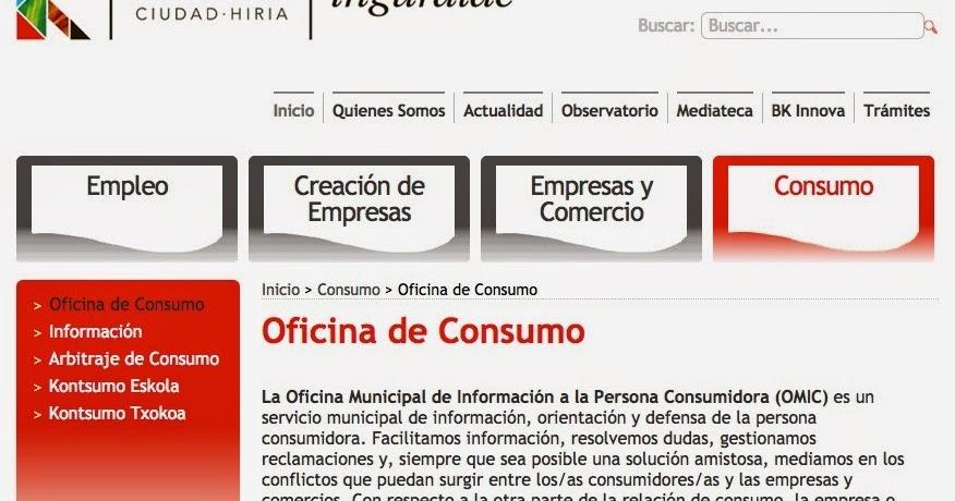 Barakaldo digital la oficina del consumidor registra un for Oficina del consumidor valladolid