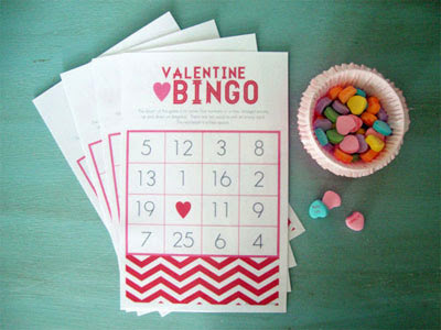 Valentine's Day Bingo Cards For Kids 2