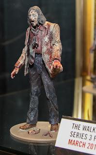 McFarlane Toys The Walking Dead 2013 Toy Fair Display