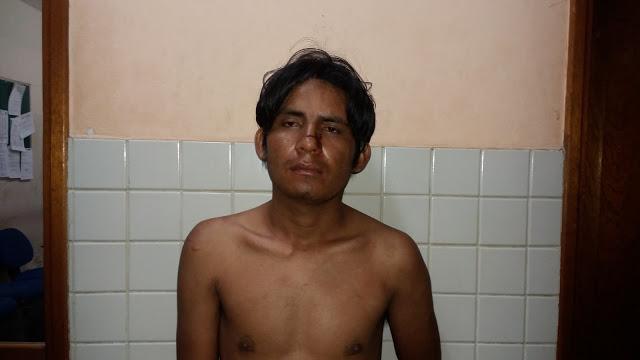 Jovem bate na propria mãe e vai parar no fundo das grades em Santarém.