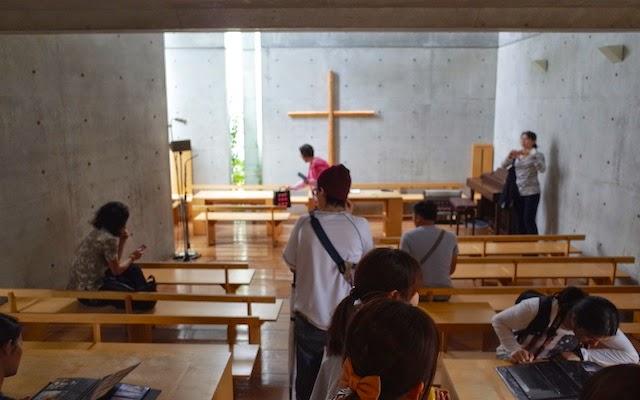 光の教会、教会ホール