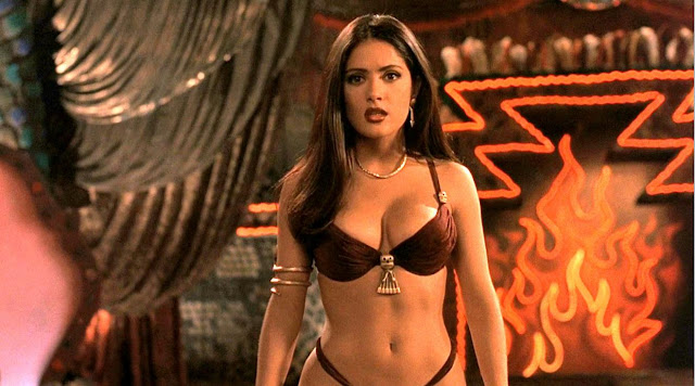 Salma Hayek in From Dusk Till Dawn movie