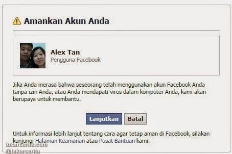 Amankan Akun Facebook Anda