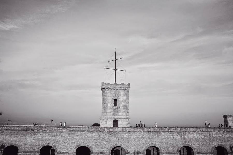Барселона, крепость Монтжуик