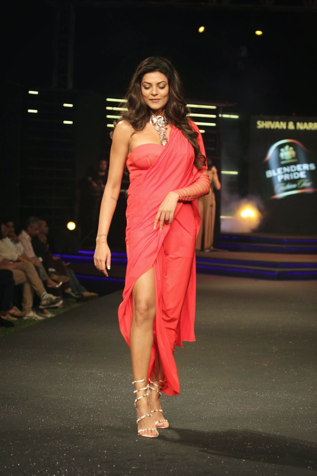 Sushmita Sen Ramp Walk Photos at BPFT 2014 Pics