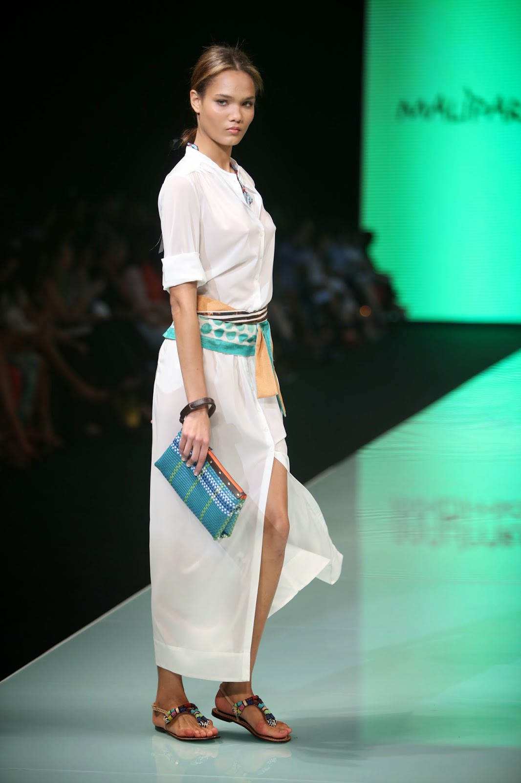 "Miami Fashion Week 2014: Maliparmi, ""being yourself is the key to this collection."""