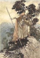 Brunnhilde (Arthur Rackham 1910)
