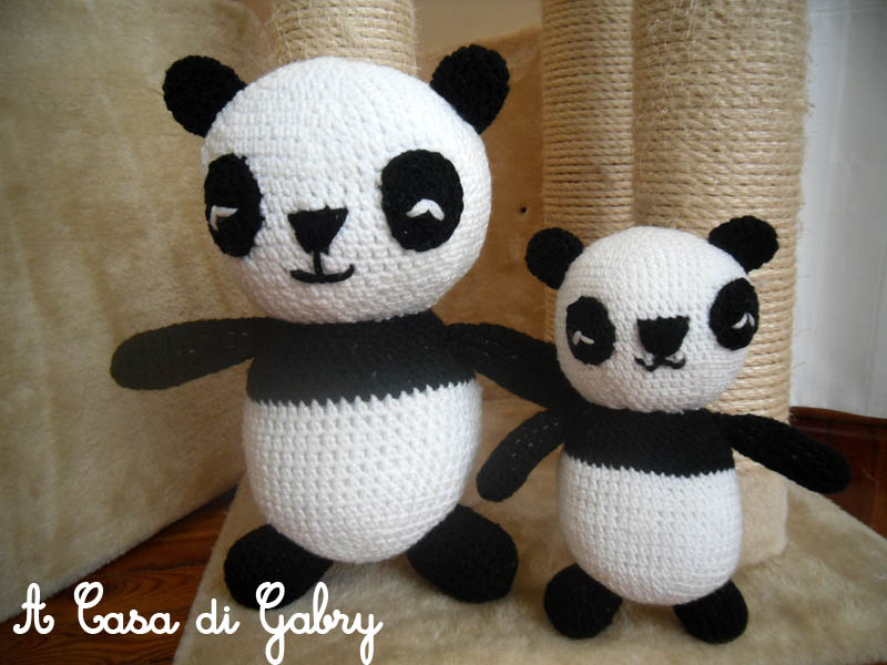 A Casa di Gabry: Panda Gigante Amigurumi