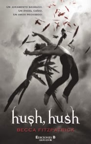 Libro Hush, Hush de Becca Fitzpatrick