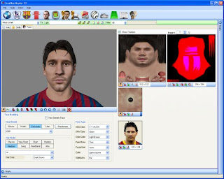 Creation Master 12 - FIFA - Face Messi Neymar
