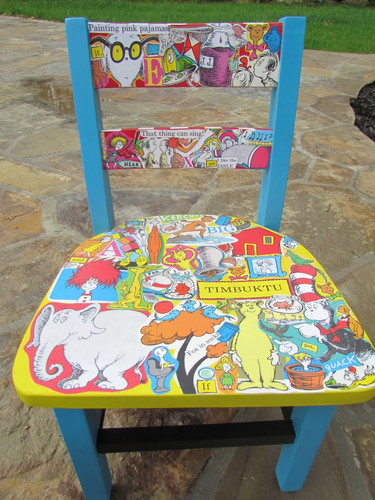 More Dr. Suess Chairs??? Yes Please!