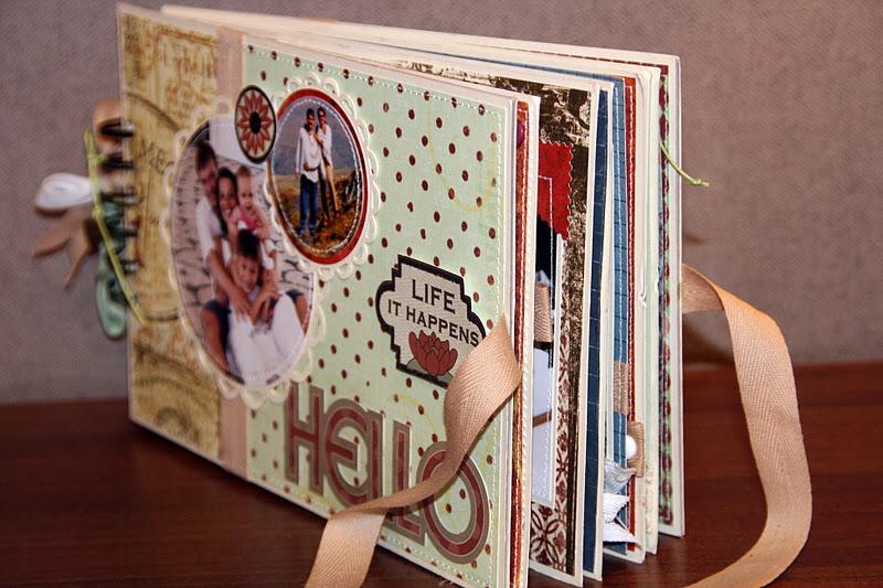 Как оформить фотоальбом семейный своими руками