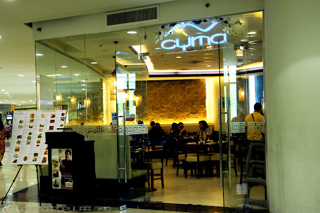 Cyma Greek Restaurant in Robinson's Place Manila