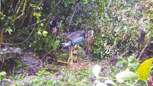 Tiga Hari Merangkak Setelah Kereta Terjunam Dalam Gaung