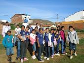 Visita a Comunidade do Barro Preto.