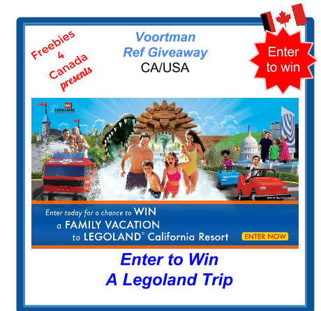 image Canadian Freebies Voortman Legoland Giveaway