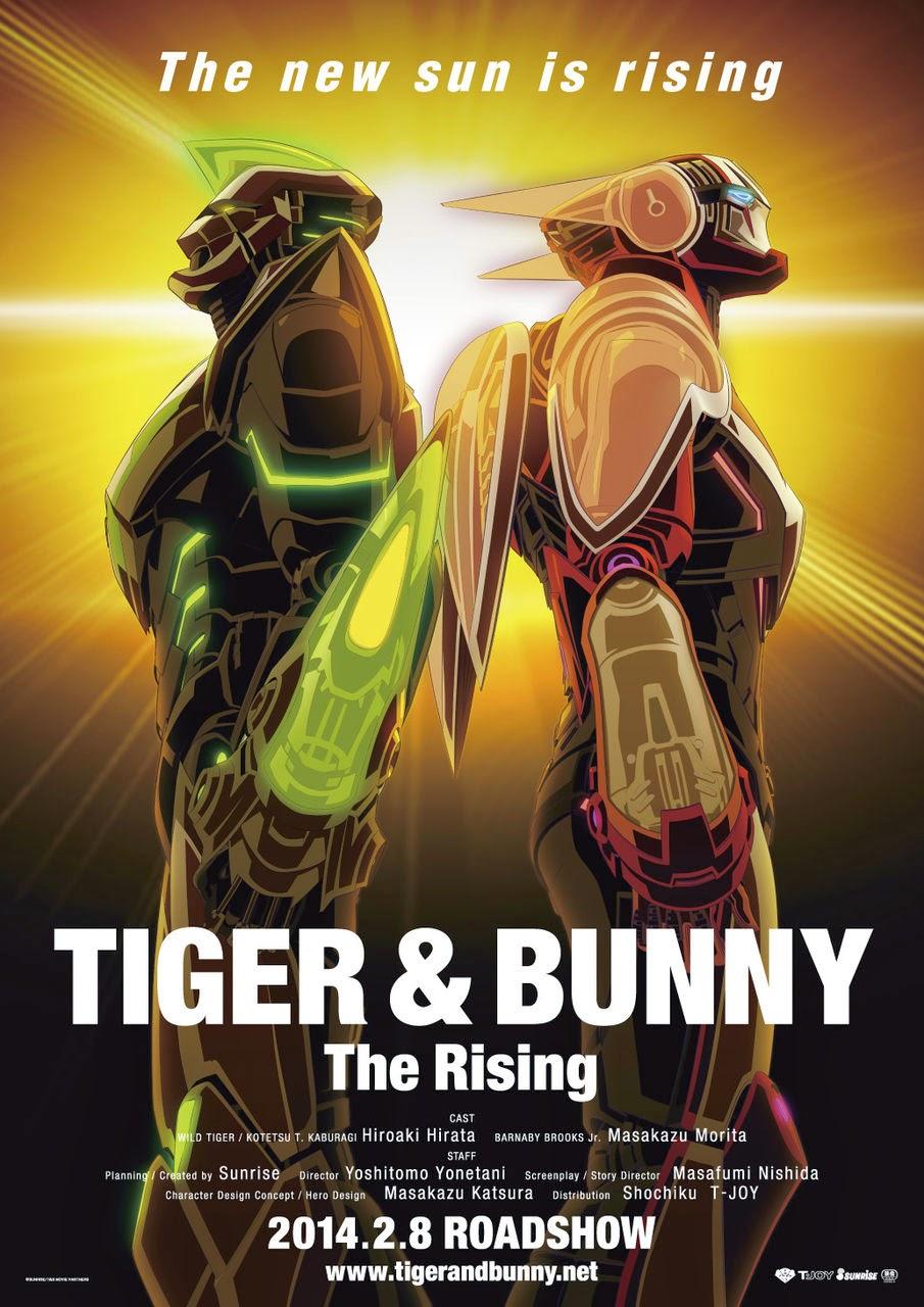 [ Info-Anime ] Tiger & Bunny: The Rising Trailer – kolaborasi seiyuu ternama Nana Mizuki