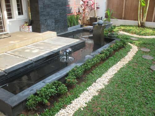 Foto gambar Taman Depan Rumah sederhana