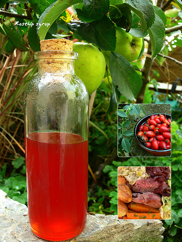 how to make rosehip water