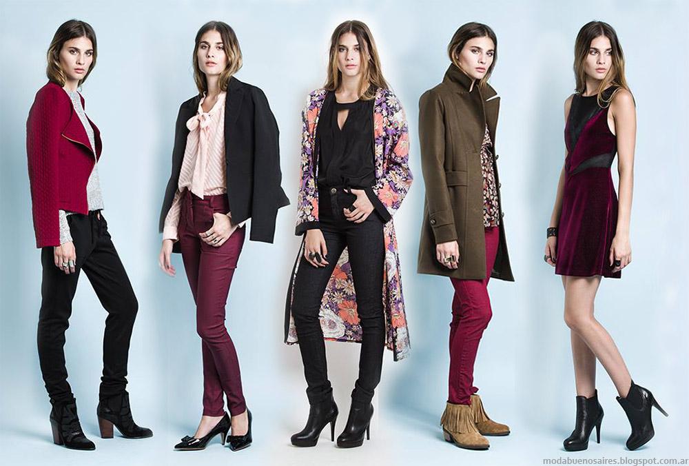 Moda otoño invierno 2015 Sans Doute ropa de mujer.