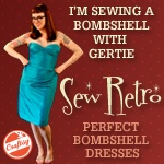 Bombshell Dress Sew-Along w/Gertie!