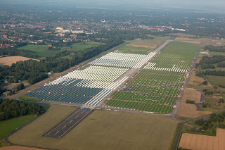 Solarpark Ammerland, Wiefelstede/Oldenburg, Photo: OL-Luftbilder