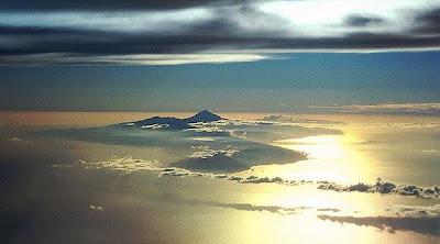 Isla de Tenerife al atardecer