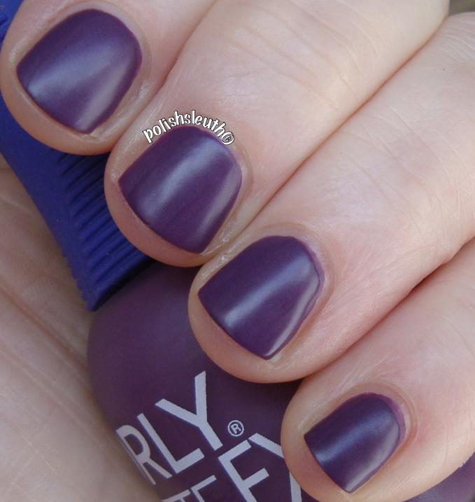 Orly's Purple Velvet