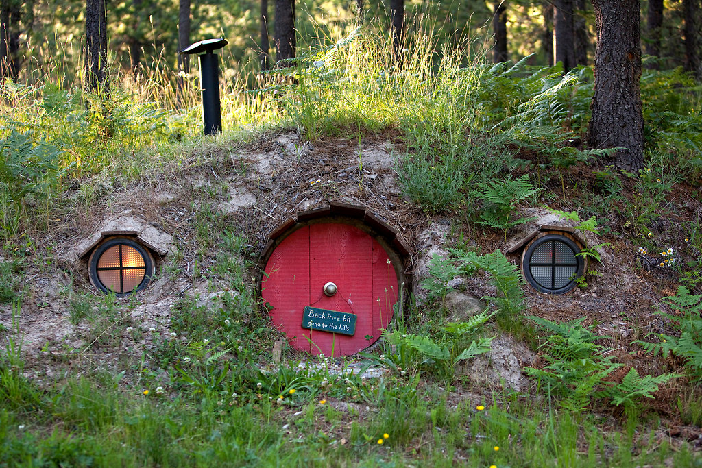 Lloyd S Blog Montana Hobbit House