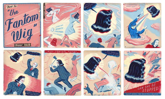 Doctor Ojiplático. Ryan Heshka. Teenage Machine Age. Ilustración | Illustration