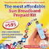 Sun Broadband Prepaid Kit Price is Now Just Php 595 : The Most Affordable Kit from Sun Ever!