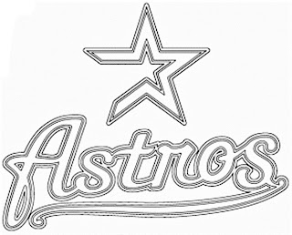 Escudo de los Astros para colorear