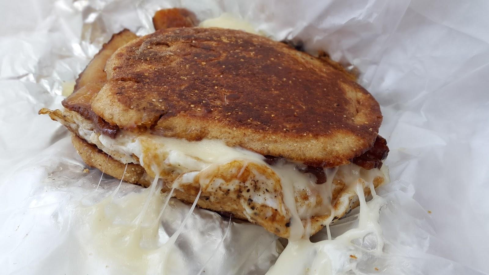 Brunch, 10:30am: Breakfast Melt, Murray's Cheese Emporium