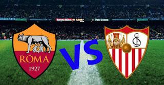 AS Roma vs Sevilla All Goals Highlights اهداف مباراة روما و اشبيلية