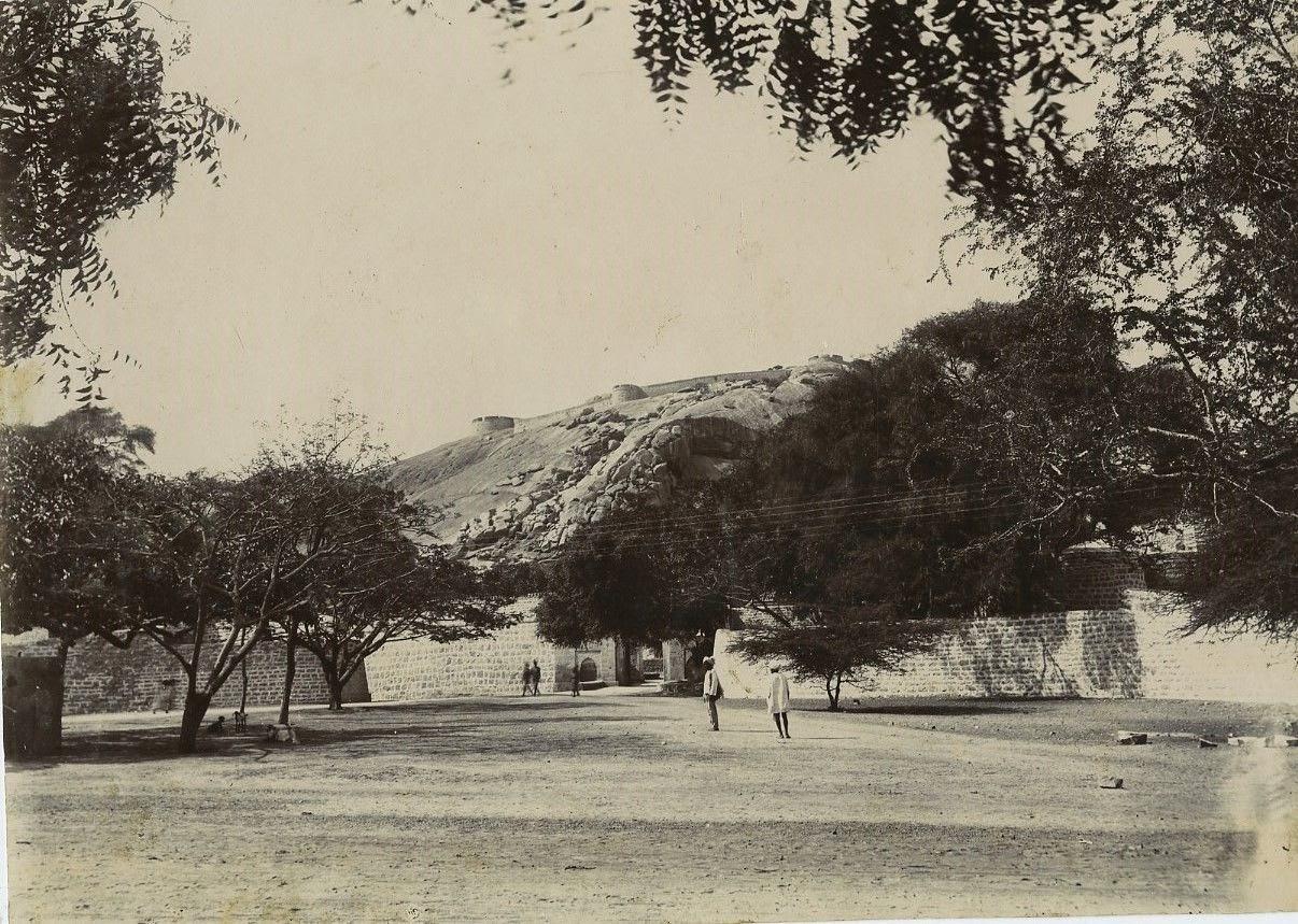 West Gate Of Bellary Fort in Karnataka - c1900's