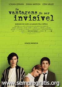 Download As Vantagens de Ser Invisível RMVB Dublado + AVI Dual Áudio DVDRip + Torrent   Baixar Torrent