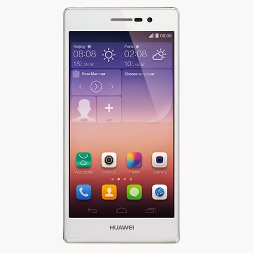 Buy Huawei Ascend P7 - White Phones online in Flosmall shop. Check out our reviews, video and comments